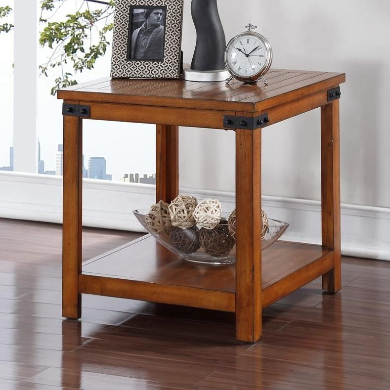 Legends Furniture Industrial Collection Industrial End Table - Item Number: ZIND-4100
