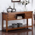 Legends Furniture Industrial Collection Industrial Sofa Table - Item Number: ZIND-4300