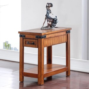 Legends Furniture Industrial Collection Industrial Side Table