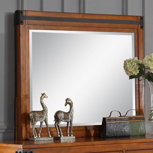 Legends Furniture Industrial Collection Industrial Mirror - Item Number: ZIND-7014