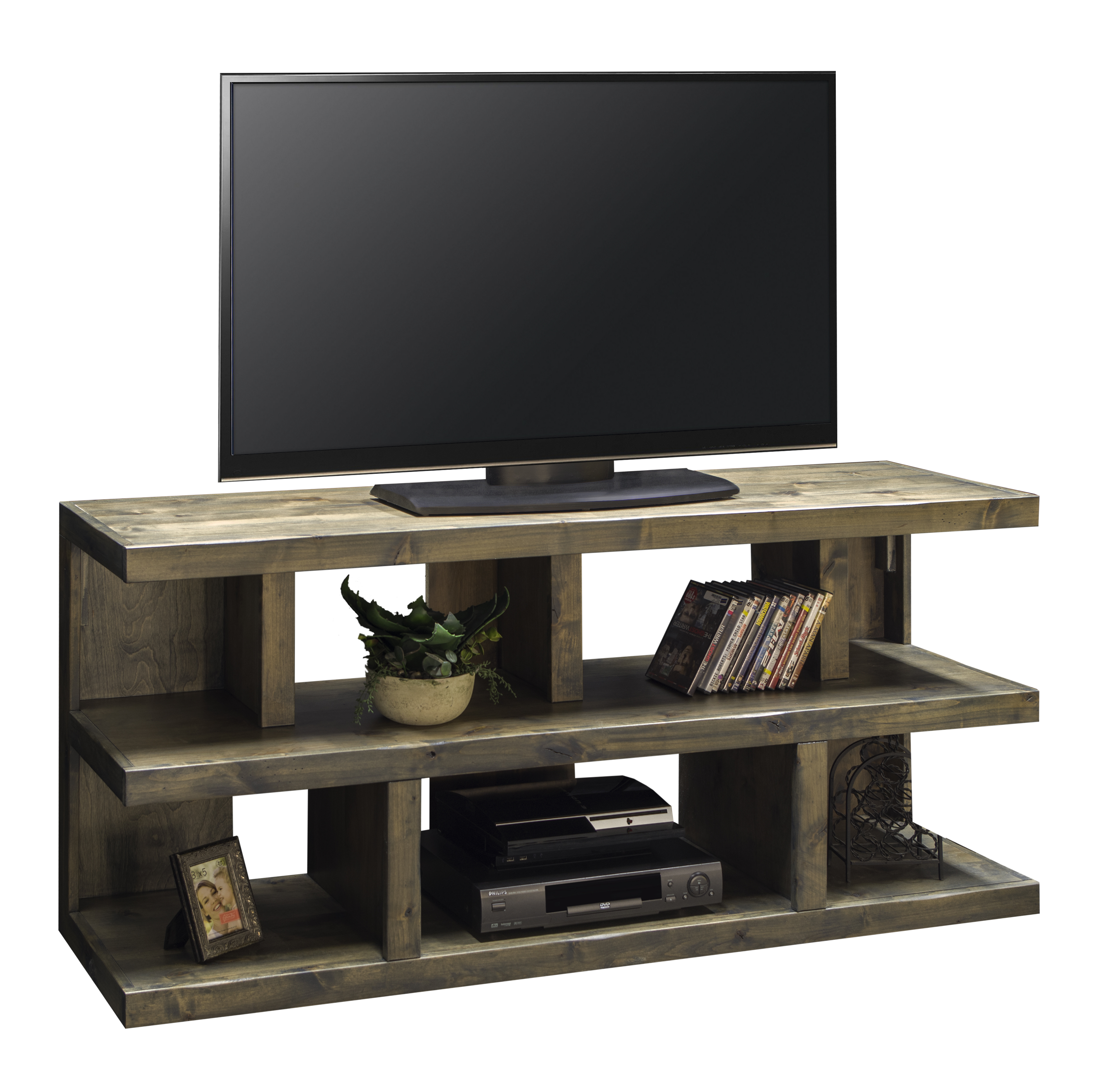 "Legends Furniture Joshua Creek Joshua Creek 64"" TV Console - Item Number: JC1230-BNW"