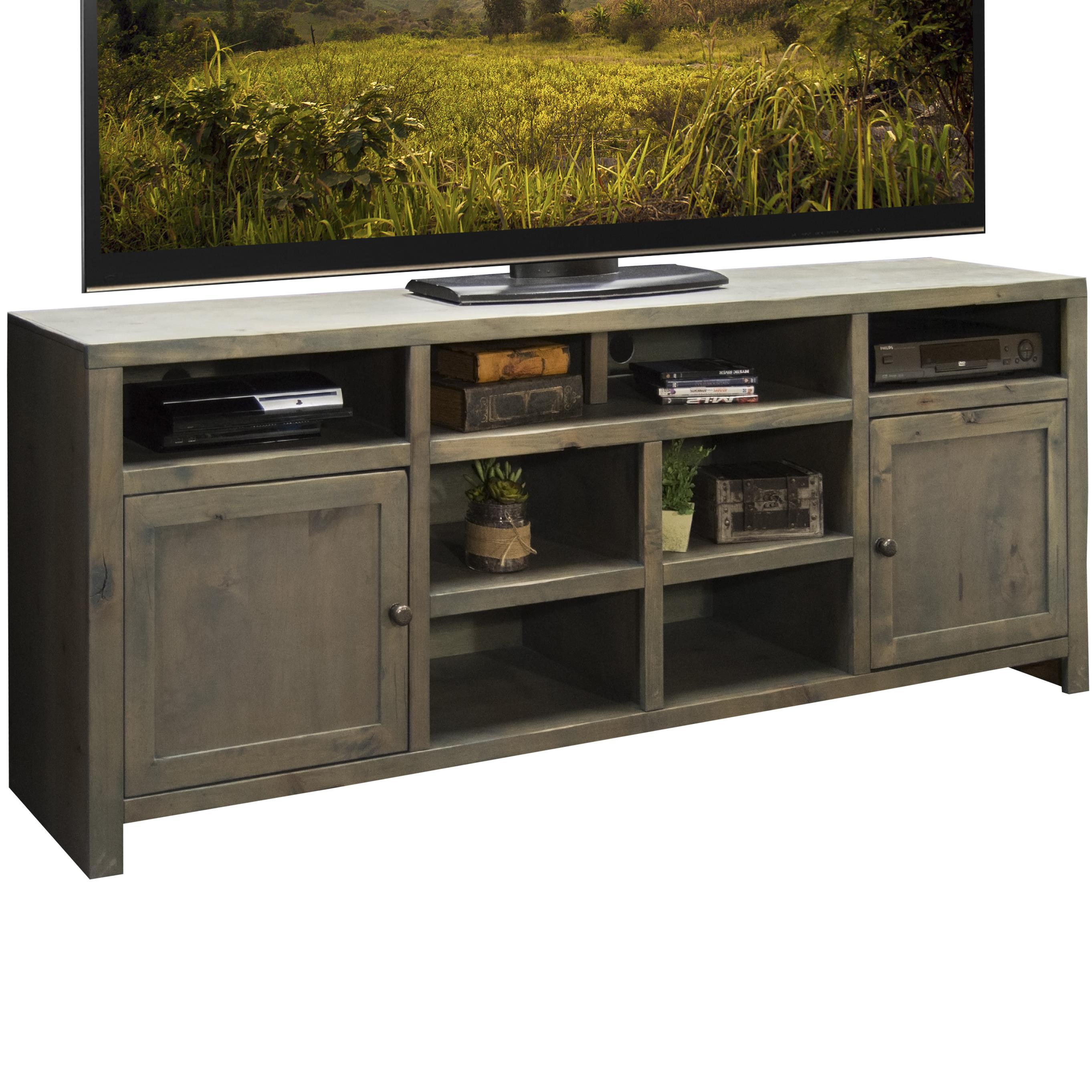 "Legends Furniture Joshua Creek 84"" Super Console - Item Number: JC1284-BNW"