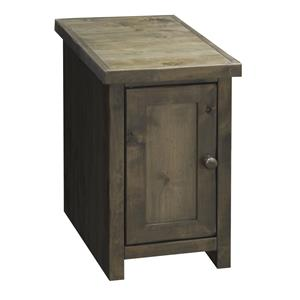 Legends Furniture Joshua Creek Joshua Creek Chair Side Table with Door