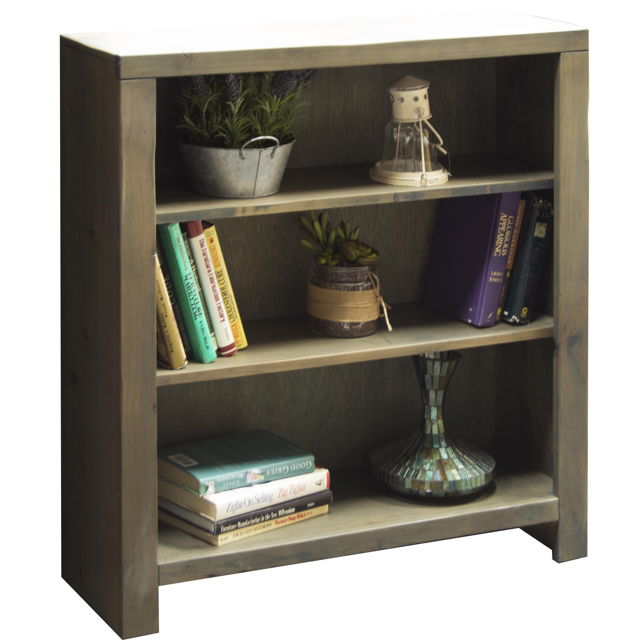 "Legends Furniture Joshua Creek 36"" Bookcase - Item Number: JC6636-BNW"