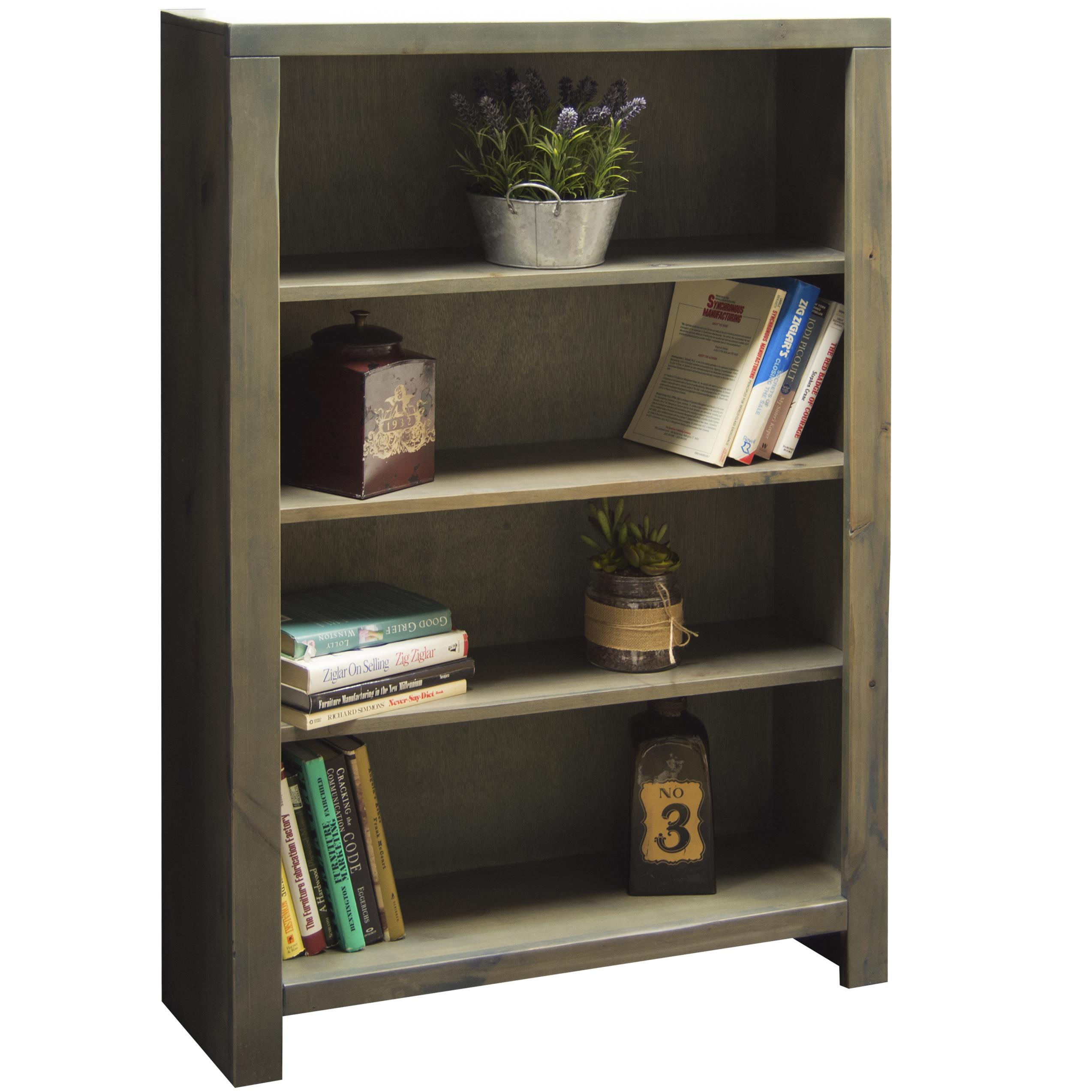 "Legends Furniture Joshua Creek 48"" Bookcase - Item Number: JC6648-BNW"