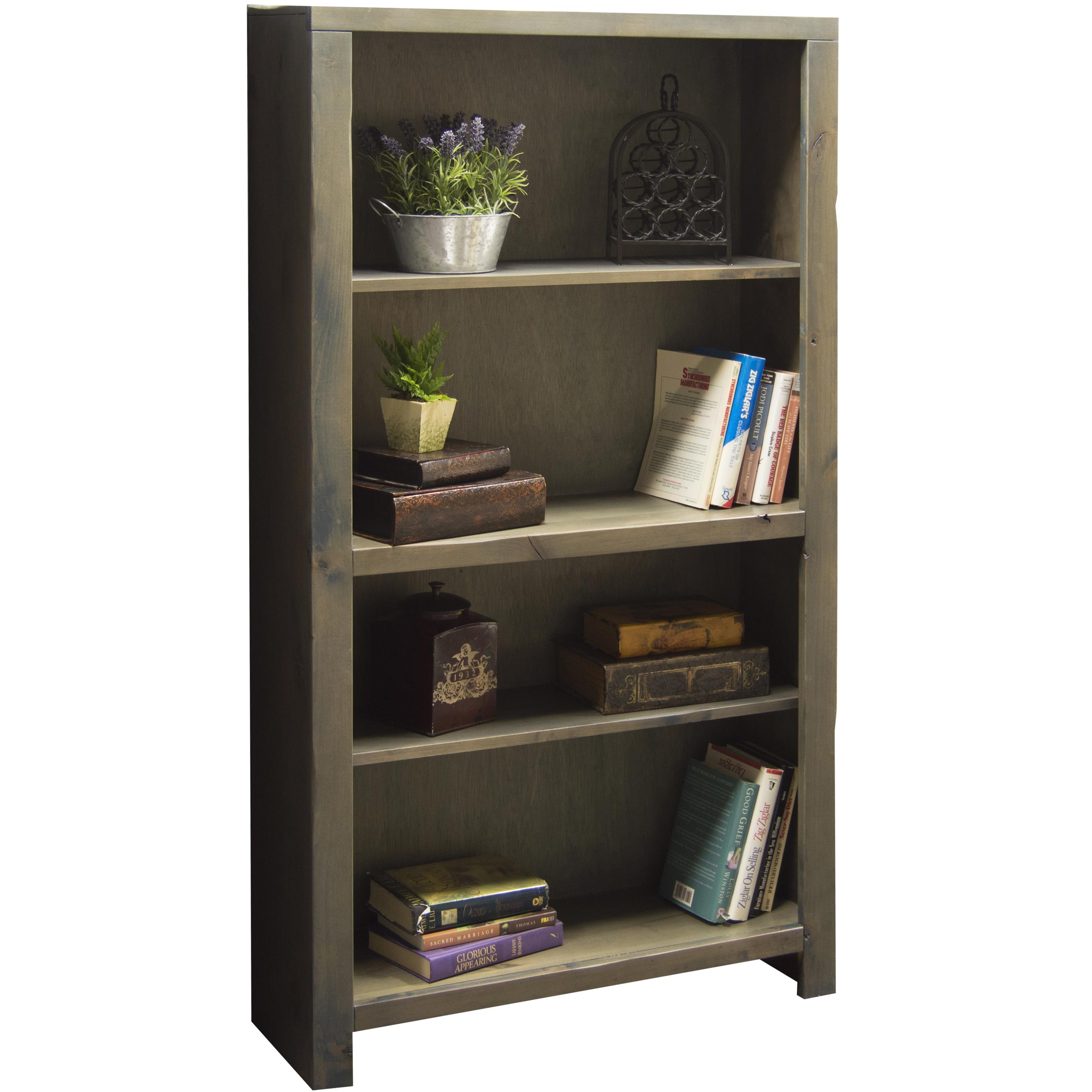 "Vendor 1356 Joshua Creek 60"" Bookcase - Item Number: JC6660-BNW"