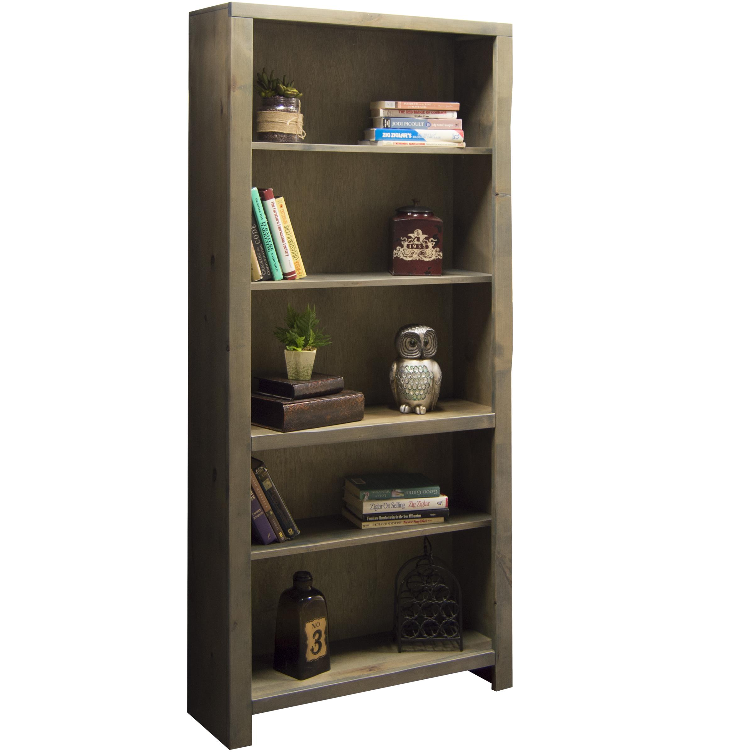 "Legends Furniture Joshua Creek 72"" Bookcase - Item Number: JC6672-BNW"
