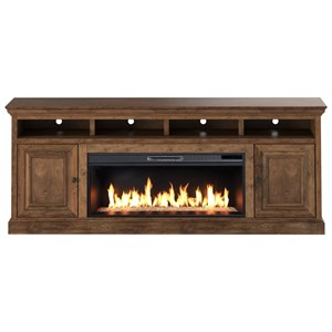 "87"" TV Stand with Fireplace"