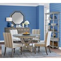 Legends Furniture Laurel Grove Casual Dining Room Group - Item Number: ZLGV Dining Room Group 2