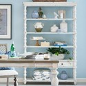 Legends Furniture Laurel Grove 5-Tier Etagere with 2 Drawers