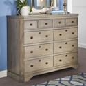 Legends Furniture Laurel Grove Tall Dresser - Item Number: ZLGV-7113