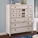 Legends Furniture Laurel Grove Dressing Chest - Item Number: ZLGV-7316