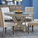 Legends Furniture Laurel Grove Pedestal Table - Item Number: ZLGV-8040T+B