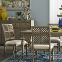 Legends Furniture Laurel Grove Side Chair with Upholstered Seat