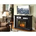 Legends Furniture Manchester Fireplace Media Center - Item Number: ZMAN-1900