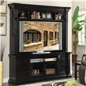 "Legends Furniture Manchester 80"" Media Console and 82"" Hutch - Item Number: ZMAN-1000"