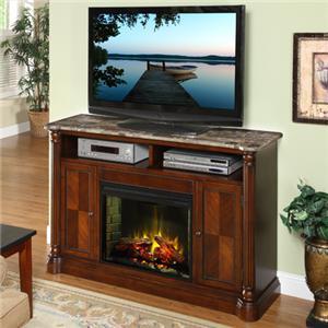 Legends Furniture Monte Cristo Fireplace Media Center