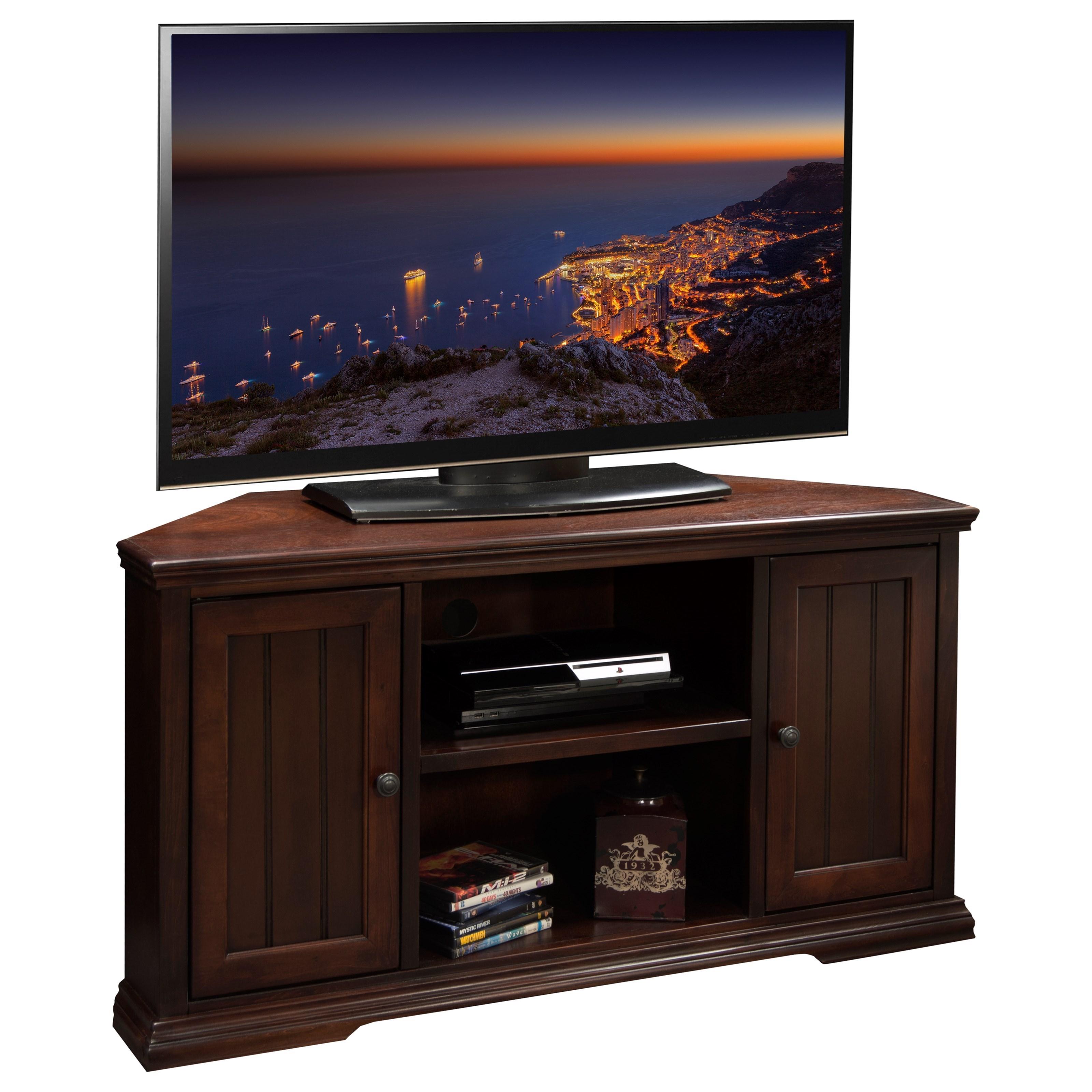 """Legends Furniture New Harbor 50"""" Corner TV Cart - Item Number: NH1202DNC"""