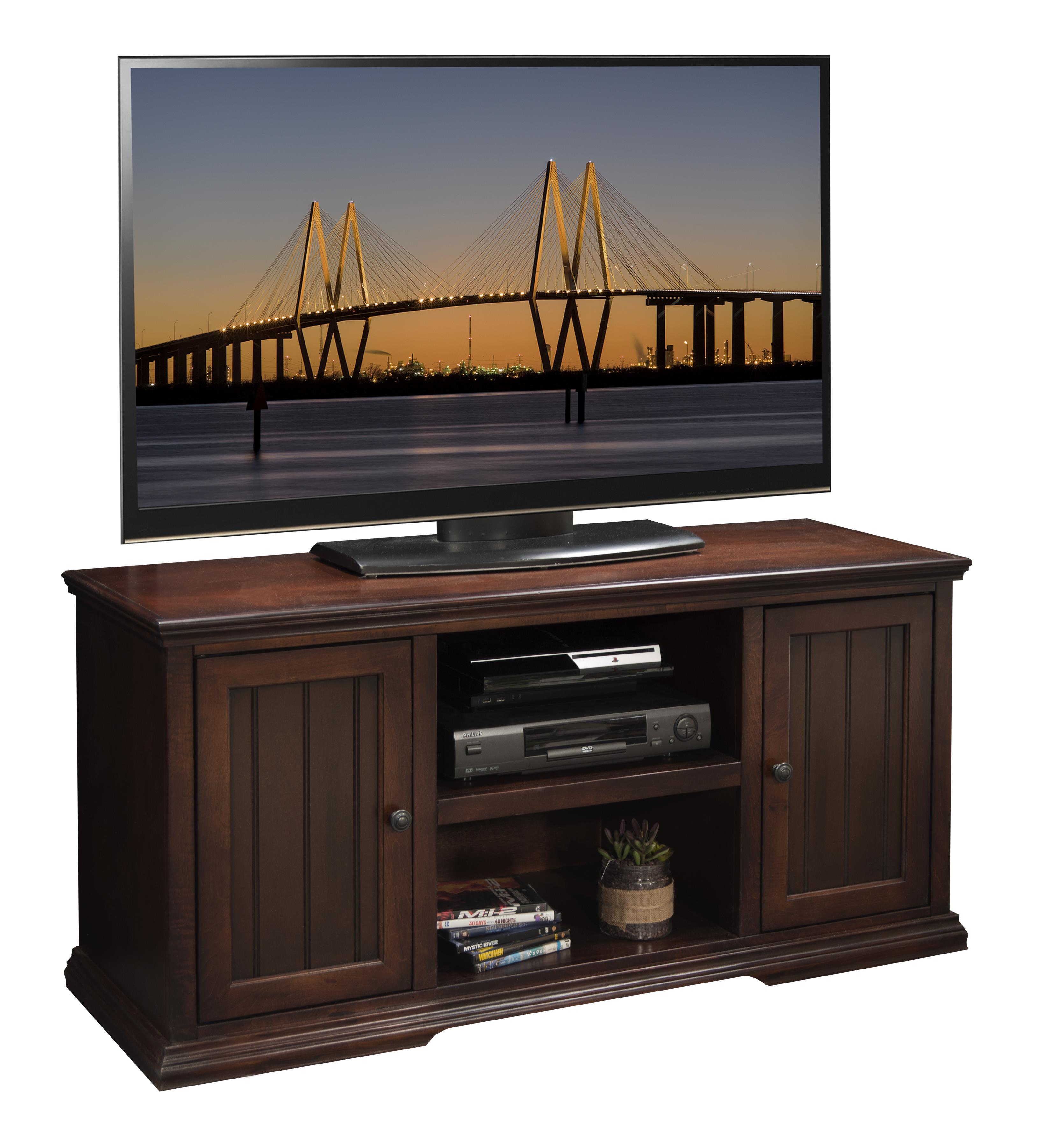 "Legends Furniture New Harbor 54"" TV Stand - Item Number: NH1227.DNC"