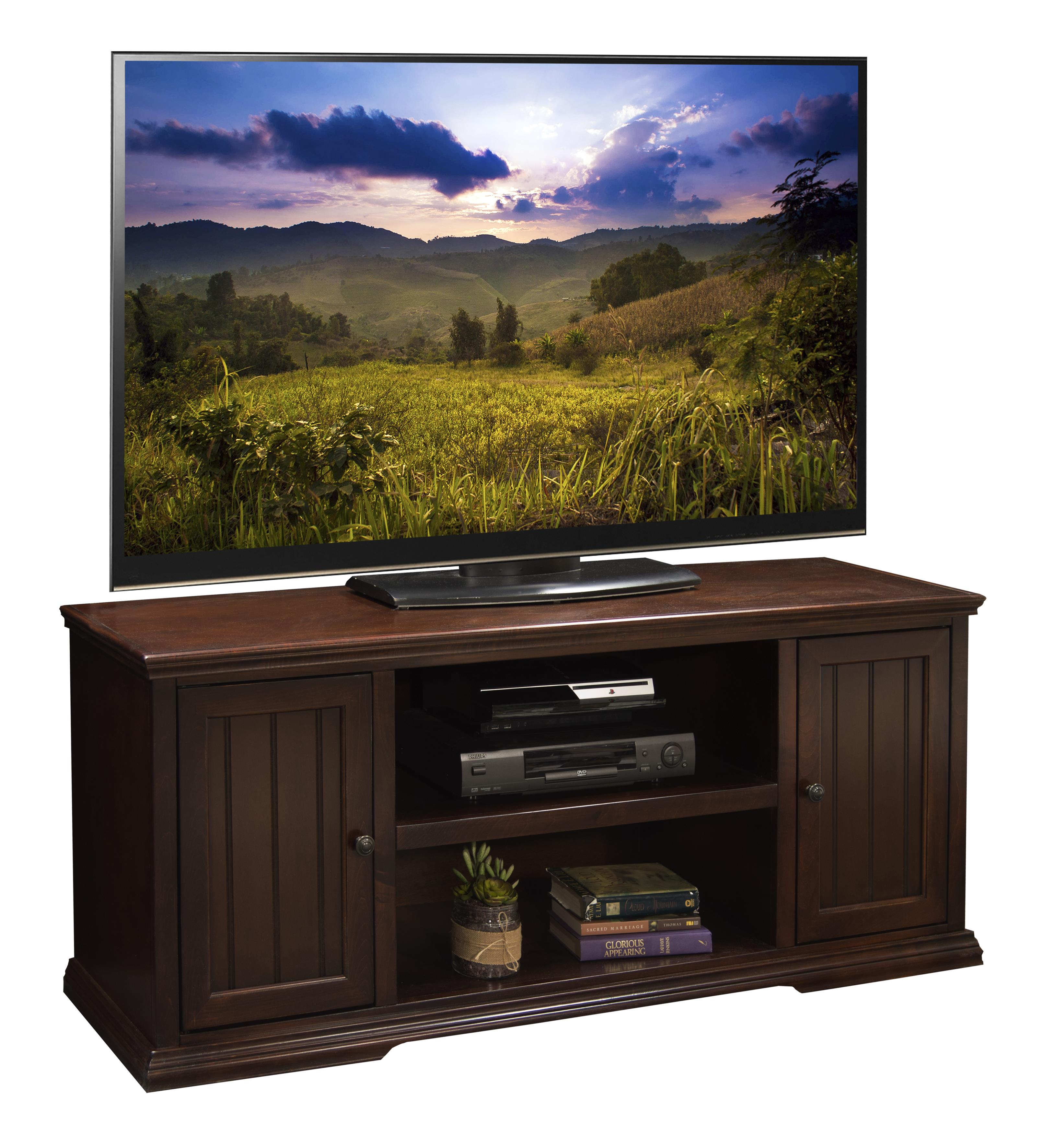 "Legends Furniture New Harbor 62"" TV Console - Item Number: NH1228.DNC"