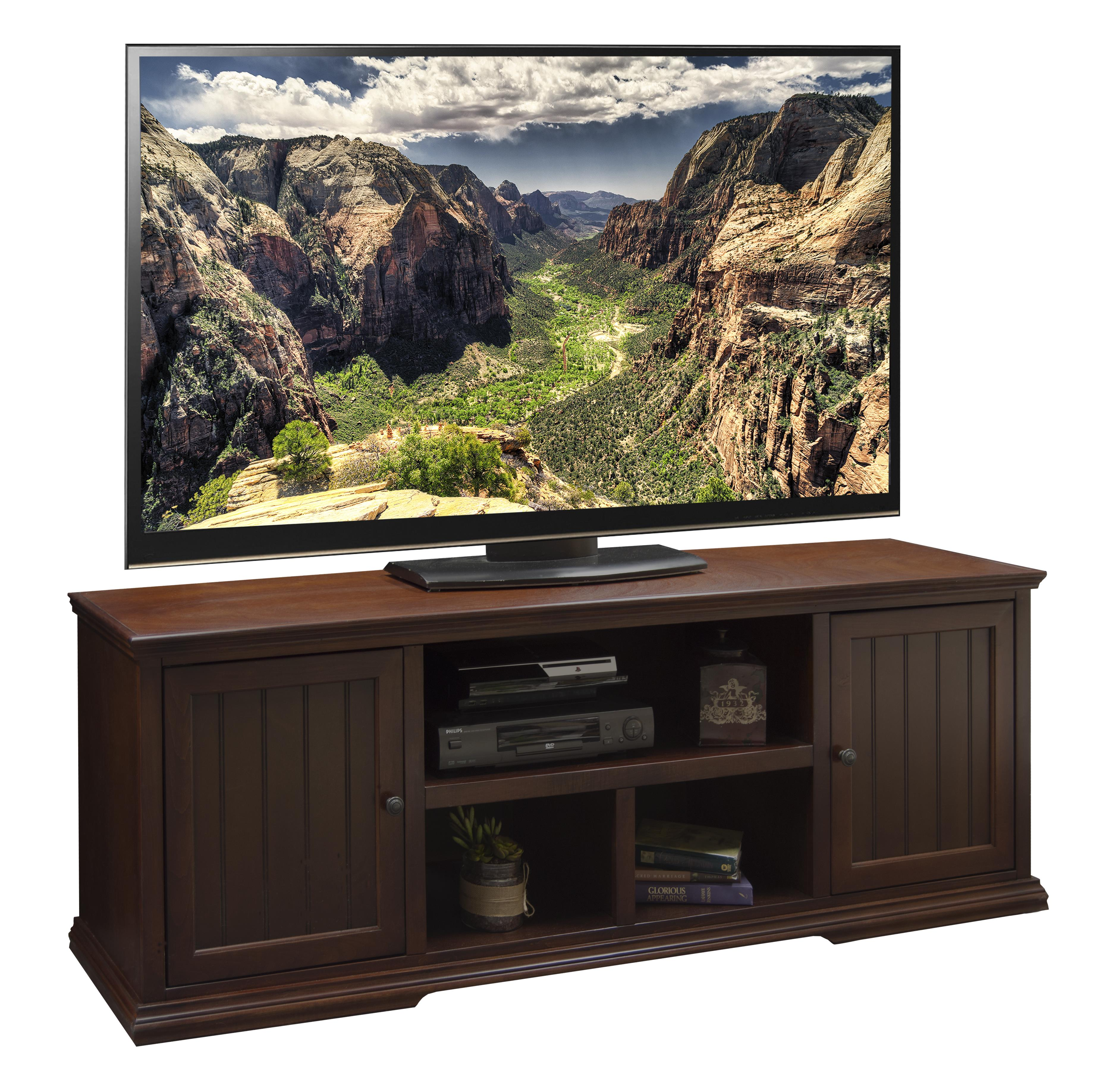 "Legends Furniture New Harbor 74"" TV Console - Item Number: NH1231.DNC"