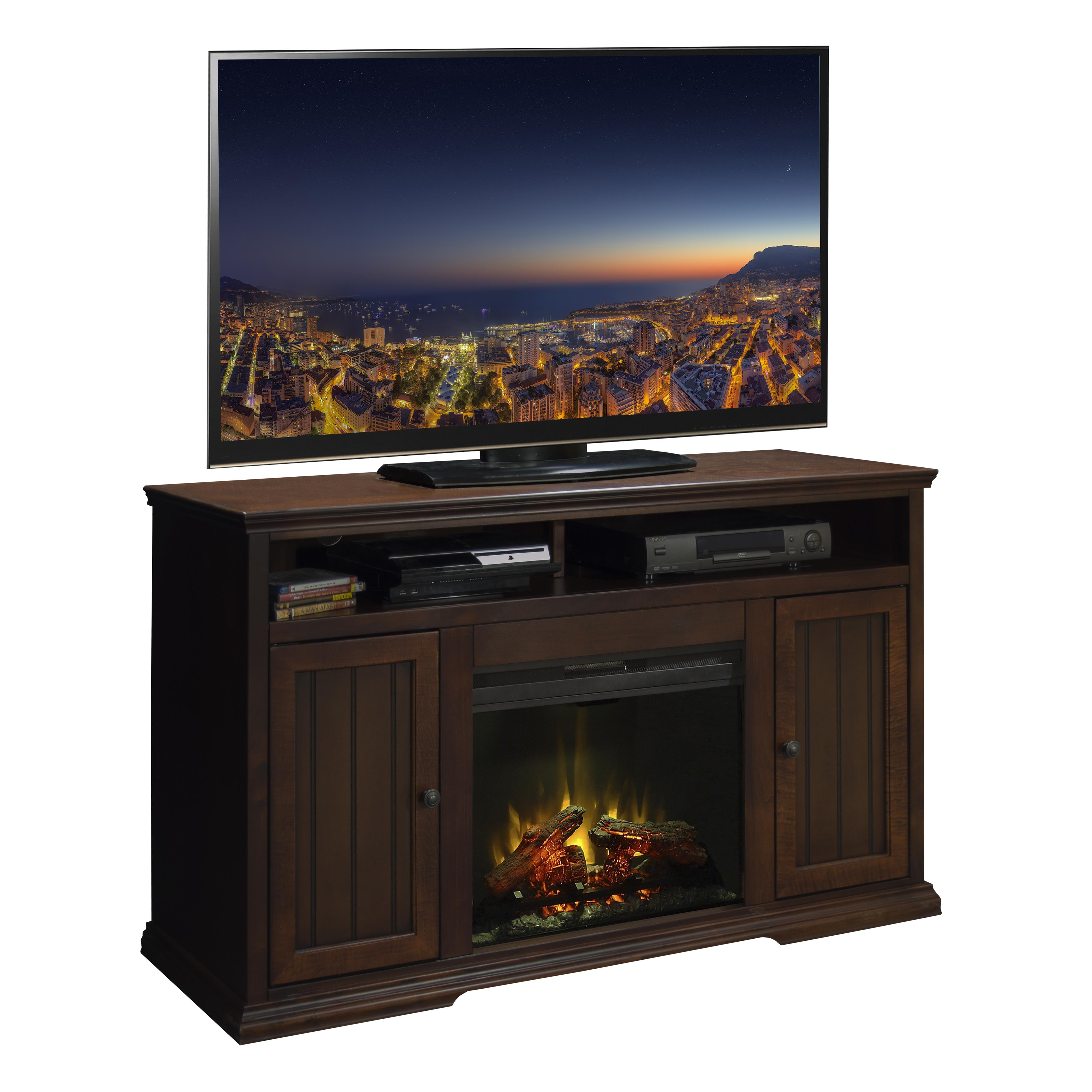 "Legends Furniture New Harbor 59"" Fireplace TV Console - Item Number: NH5304.KIT"