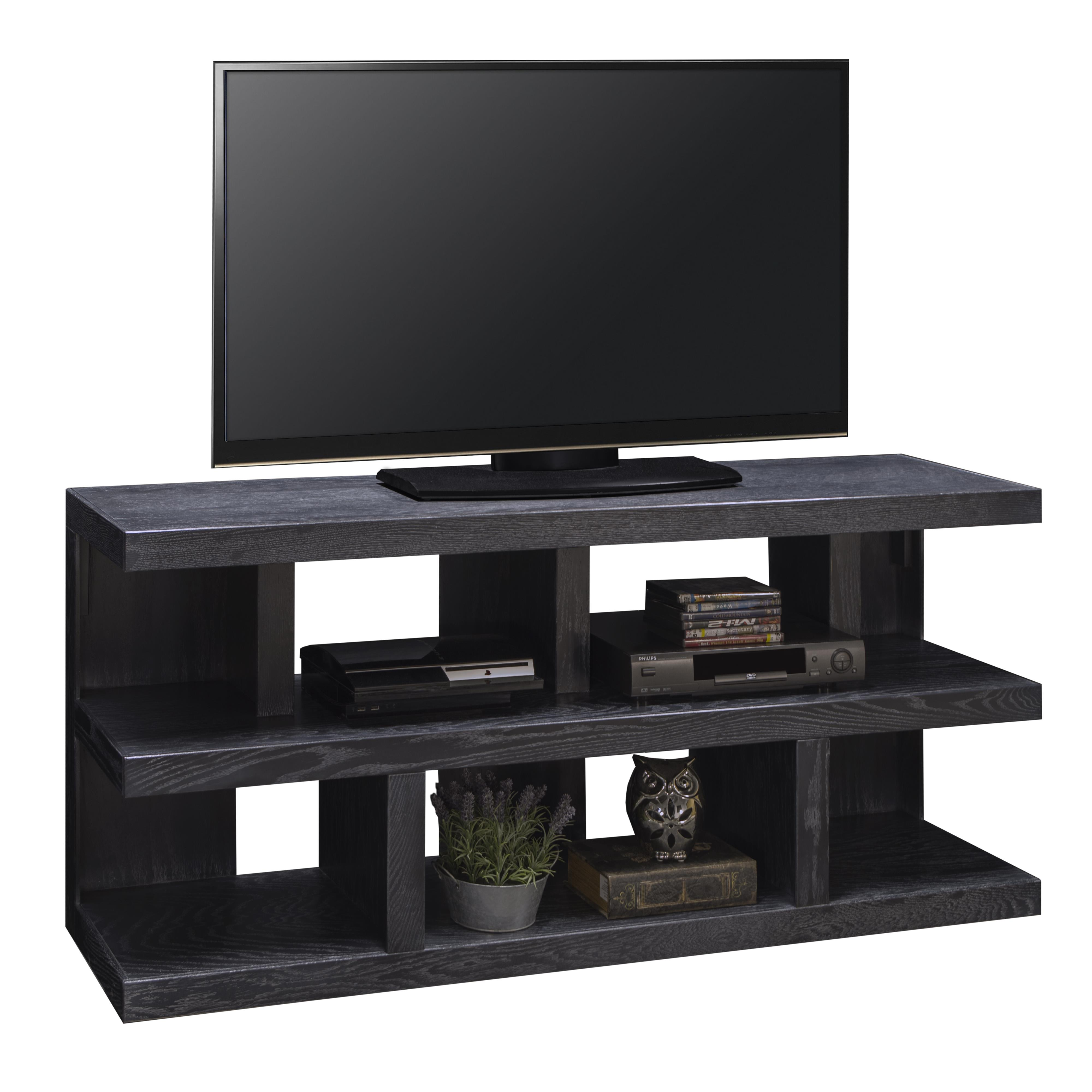 """Legends Furniture Night Moves 65"""" TV Console - Item Number: NM1230-GNL"""