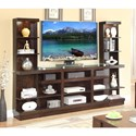 Legends Furniture Novella Entertainment Wall Console - Item Number: ZNOV-1000