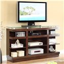 Legends Furniture Novella 9-Shelf TV Stand - Item Number: ZNOV-1465