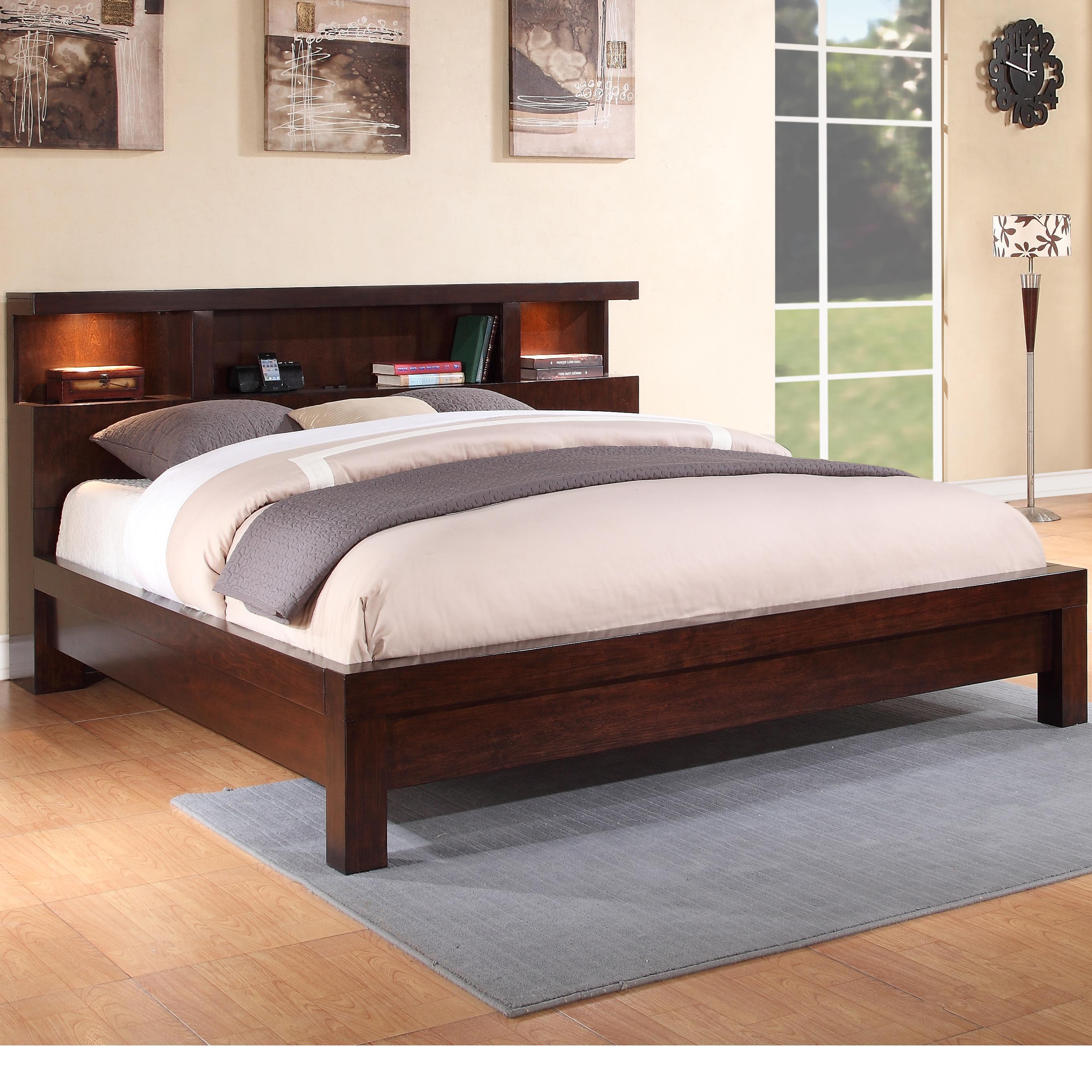 Legends Furniture Novella Cal King Bed - Item Number: ZNOV-7004+7005+7011