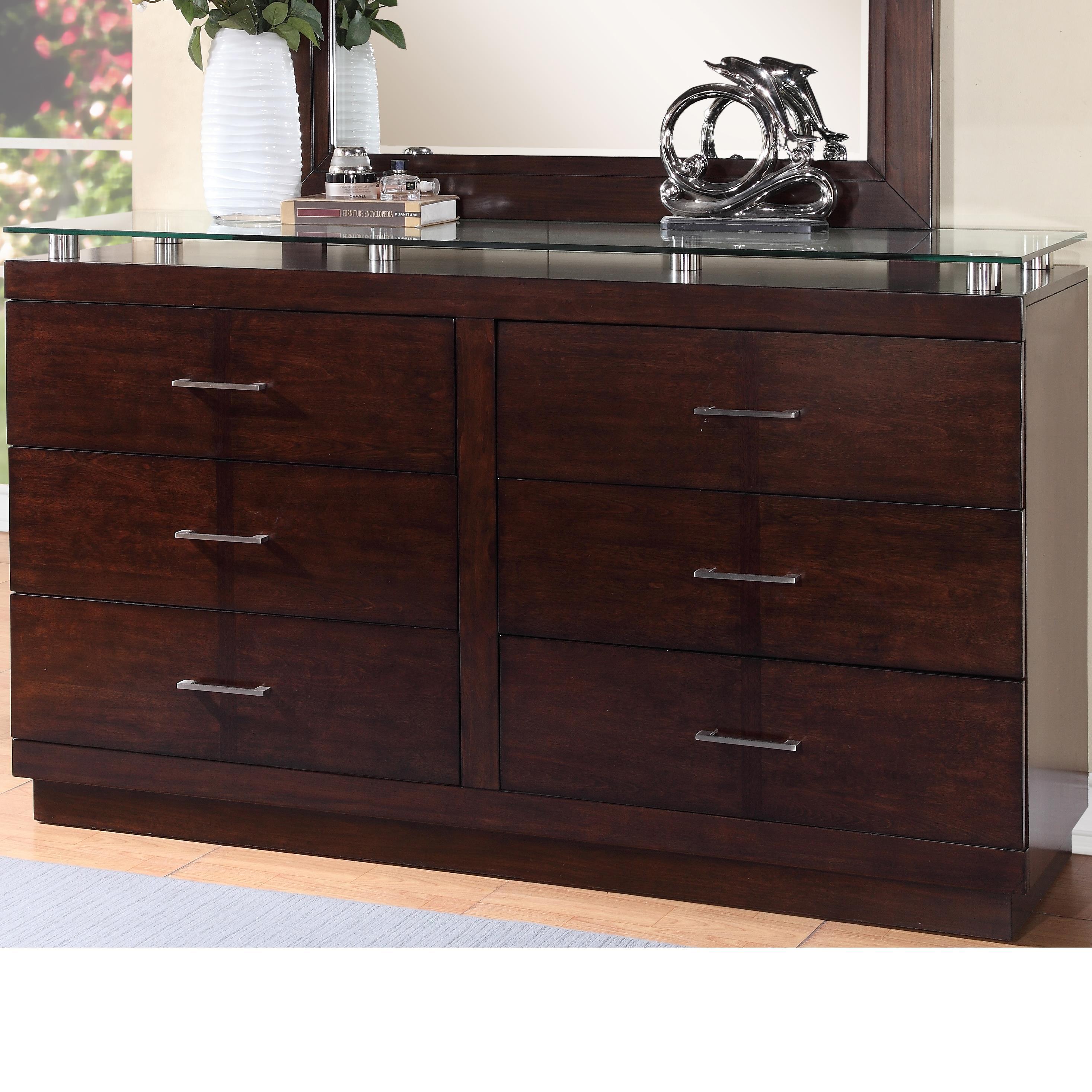 Legends Furniture Novella Dresser - Item Number: ZNOV-7013