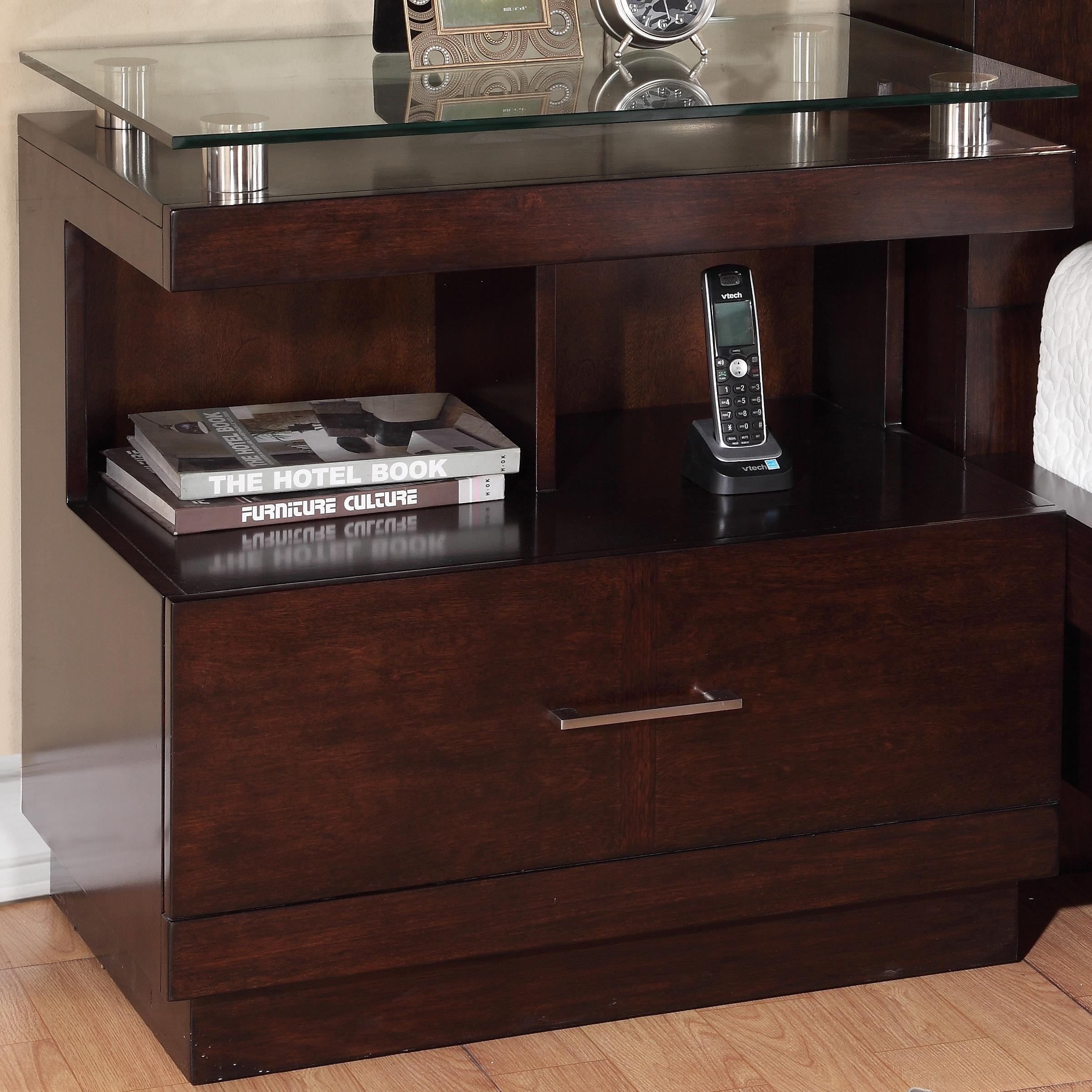 Legends Furniture Novella Nightstand - Item Number: ZNOV-7015