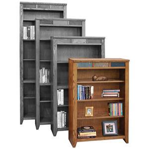"""Legends Furniture Oak Creek 48"""" Bookcase"""