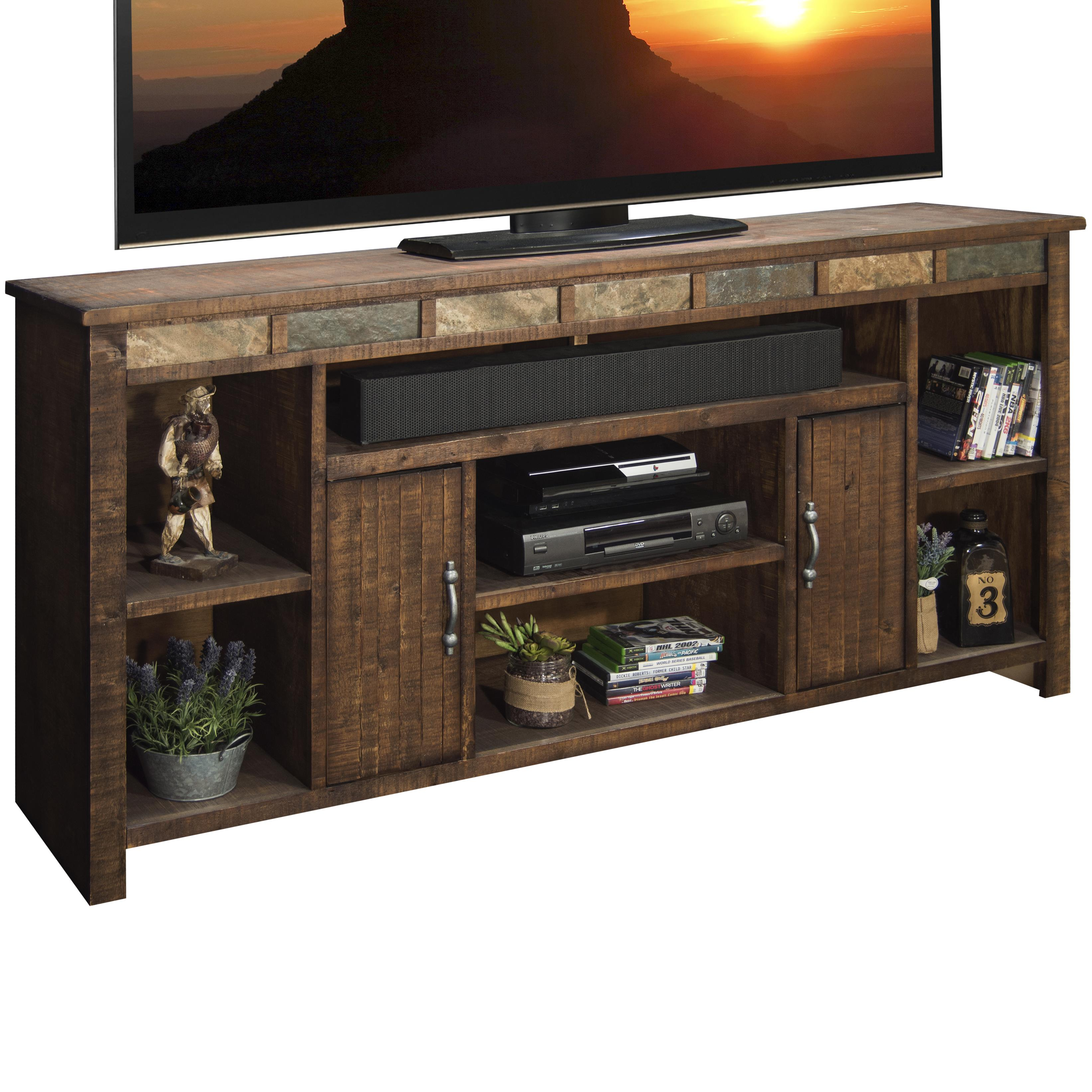 "Legends Furniture Old West 75"" TV Console - Item Number: OW1275-OLD"