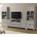 Legends Furniture Pacific Heights Entertainment Wall Unit - Item Number: ZPCH-1001G