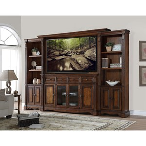 Legends Furniture Parliament Parliament Entertainment Wall