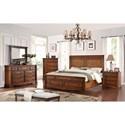 Legends Furniture Parliament King Bedroom Group - Item Number: ZPAR-70 K Bedroom Group 1