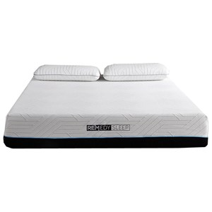 "King 10"" Gel Memory Foam Mattress"