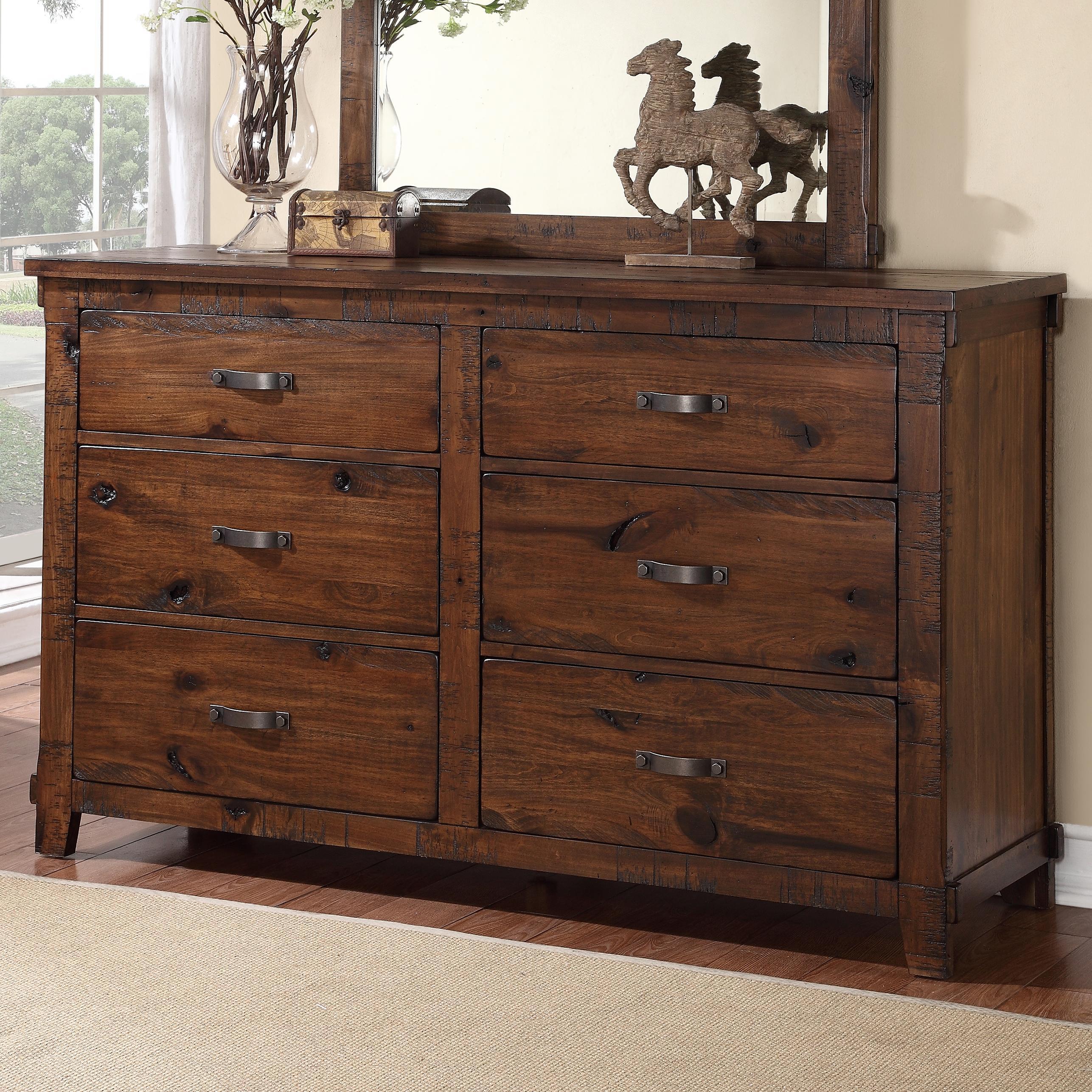 Legends Furniture Restoration Restoration Dresser - Item Number: ZRST-7013