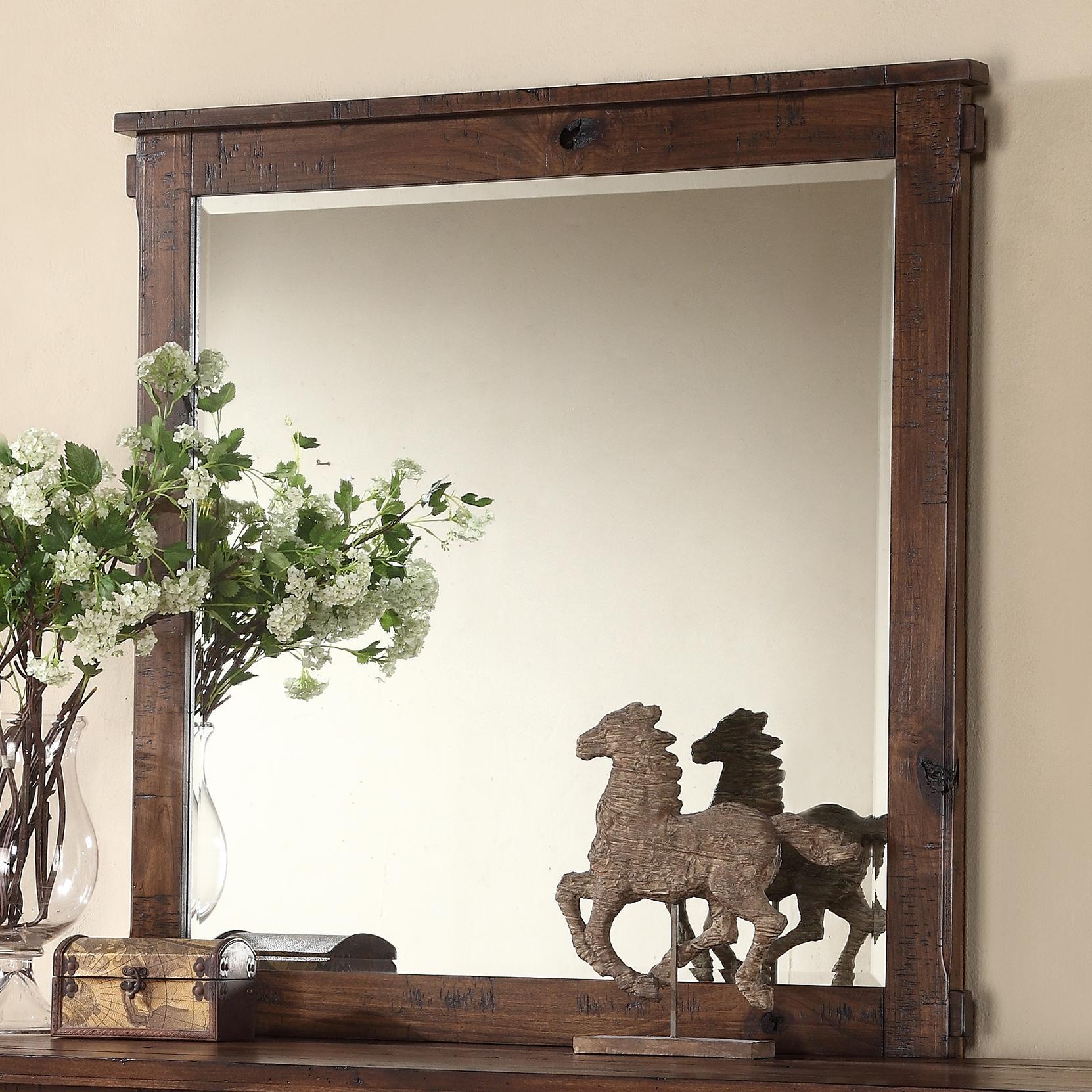 Legends Furniture Restoration Restoration Mirror - Item Number: ZRST-7014