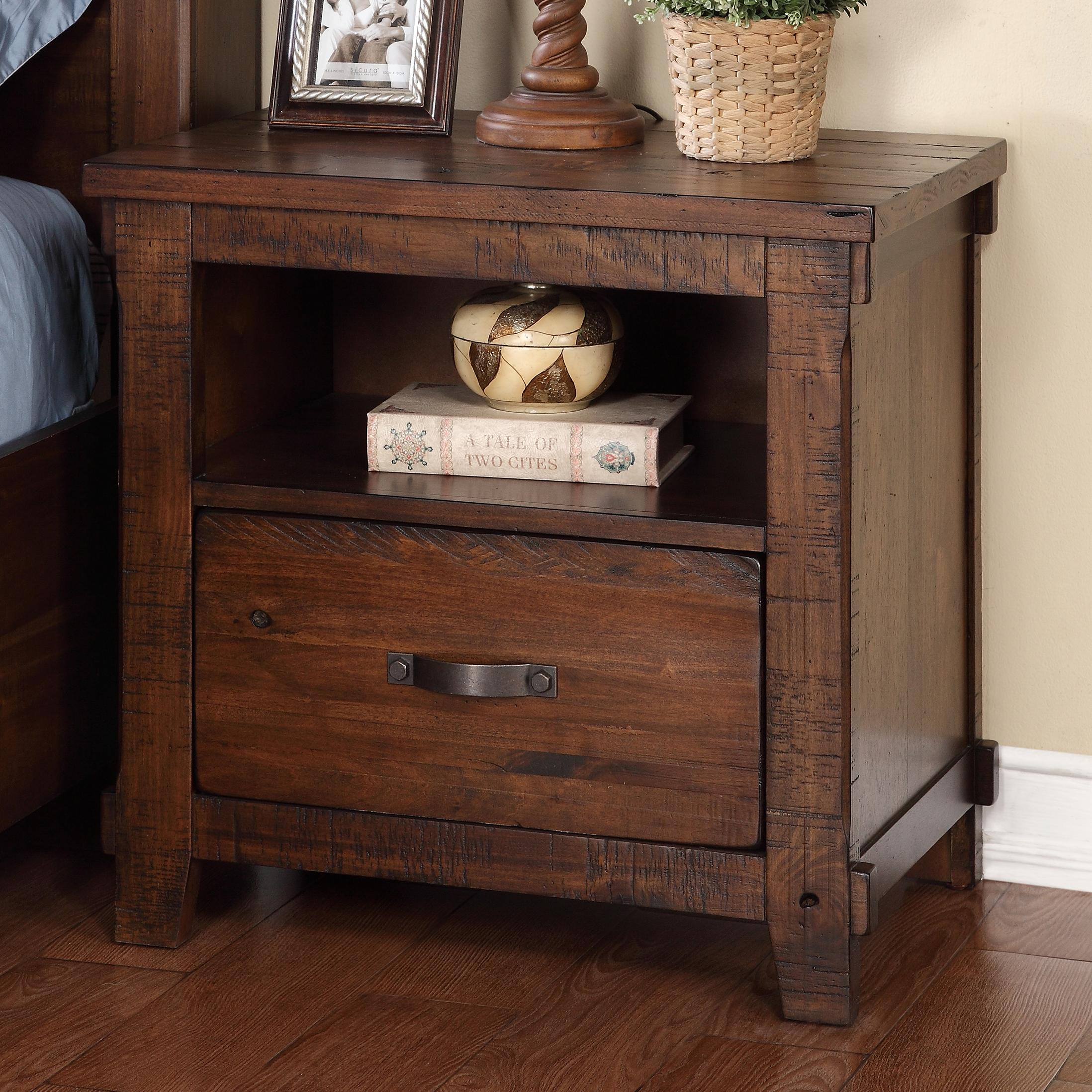 Legends Furniture Restoration Restoration Nightstand - Item Number: ZRST-7015