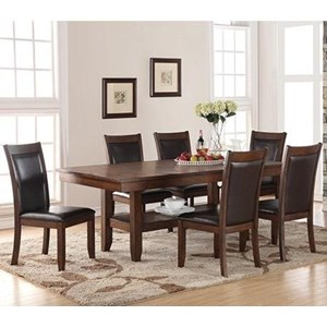 Legends Furniture Restoration 7 Piece Table & Chair Set