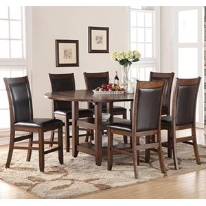 Legends Furniture Restoration 7 Piece Counter Height Table & Chair Set
