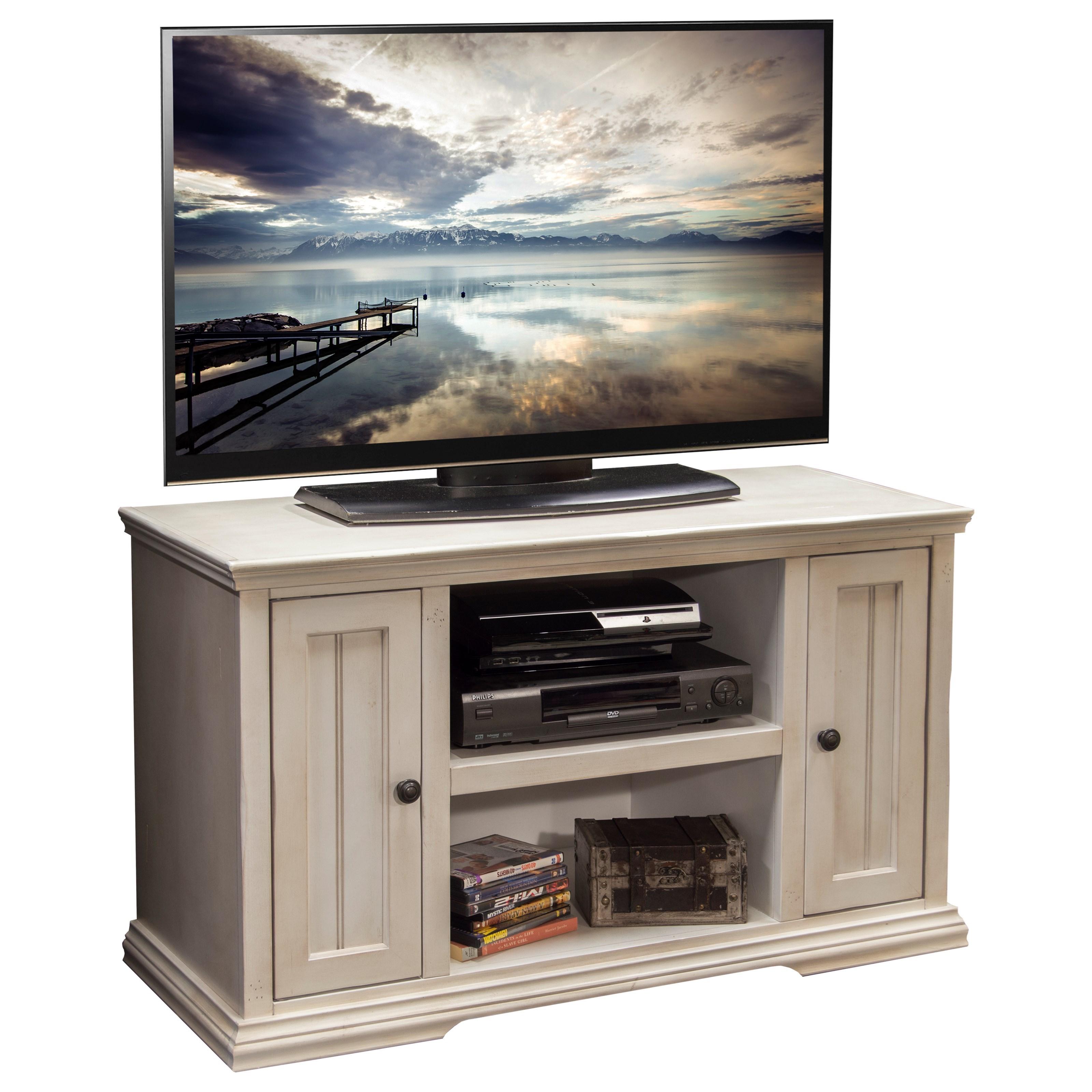 "Legends Furniture Riverton 44"" TV Cart - Item Number: RT1226.ATW"