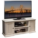 "Legends Furniture Riverton 62"" TV Console - Item Number: RT1228.ATW"