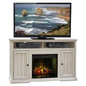 "Legends Furniture Riverton 59"" Fireplace Console"
