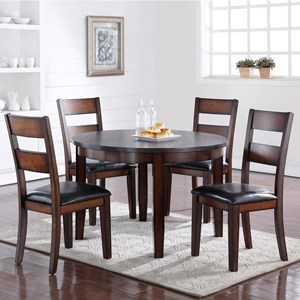 Vendor 1356 Rockport 5 Piece Table & Chair Set