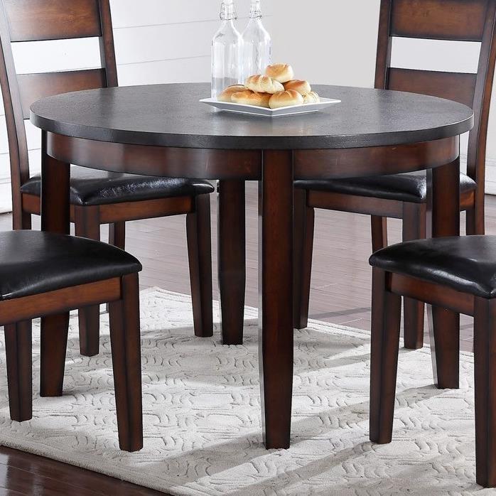 """Legends Furniture Rockport 48"""" Round Table - Item Number: ZRPT-8080"""