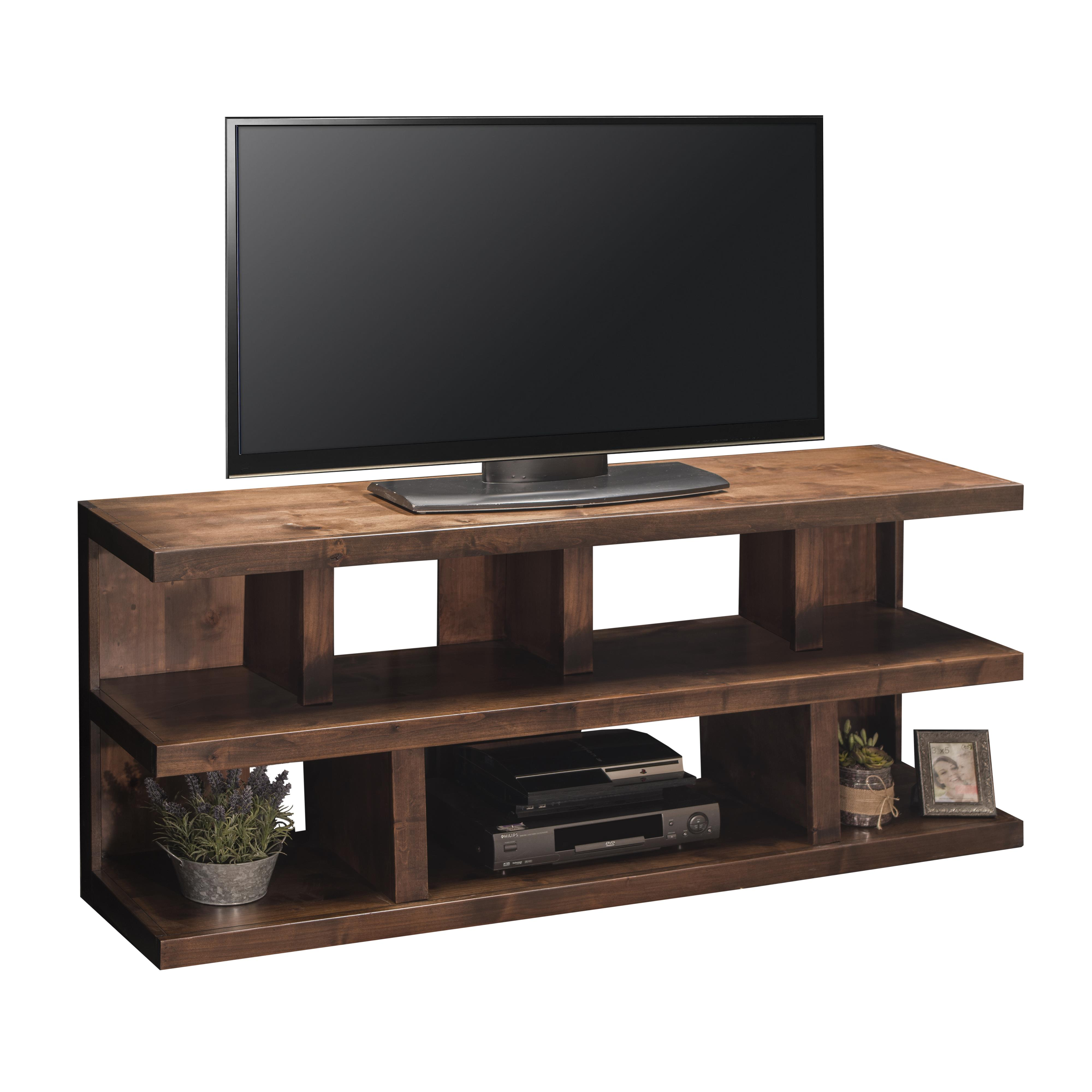 "Legends Furniture Sausalito Collection 64"" Media Console - Item Number: SL1230-WKY"