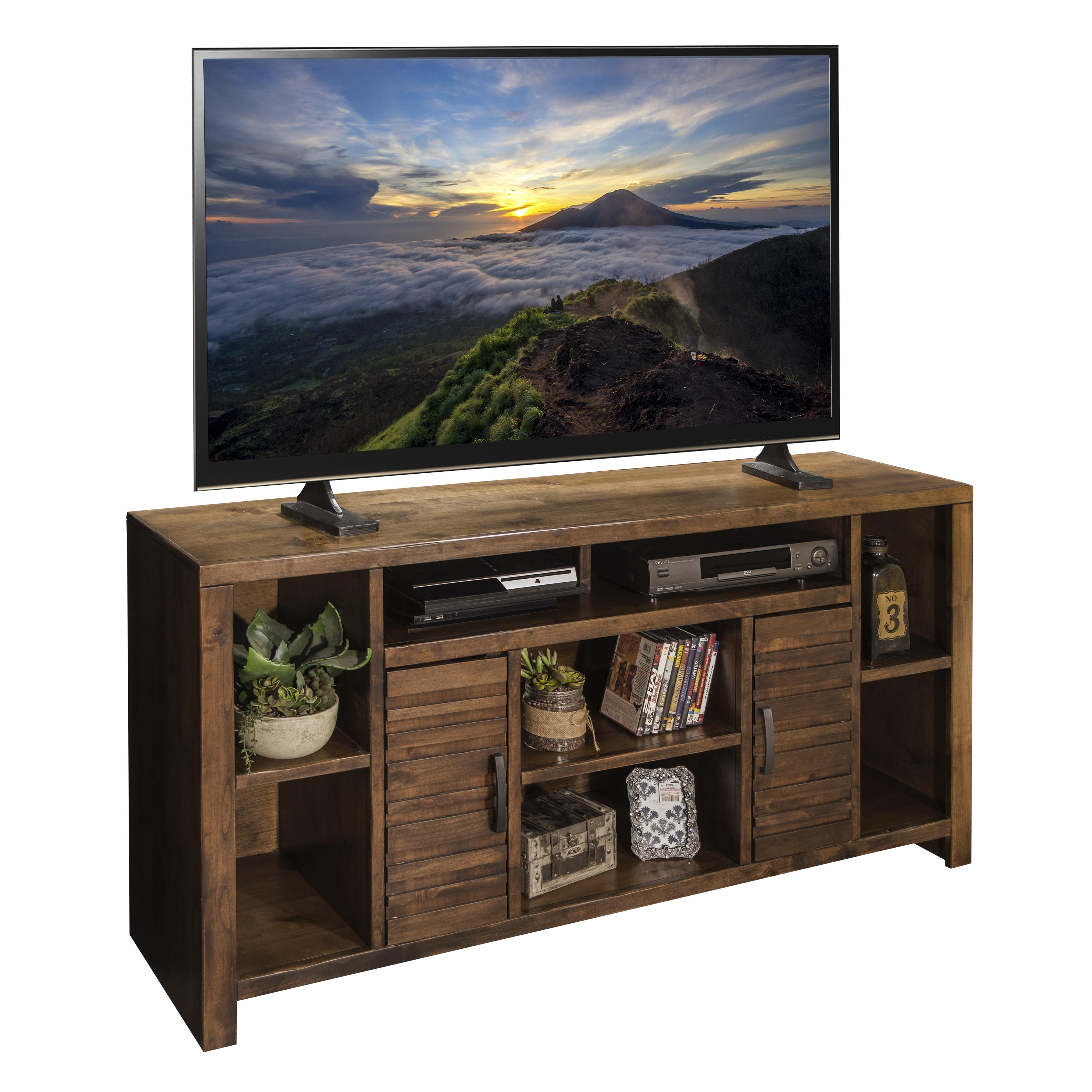 "Legends Furniture Sausalito Collection 64"" TV Console - Item Number: SL1265-WKY"